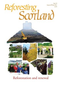 Cover of Reforesting Scotland Journal issue 44