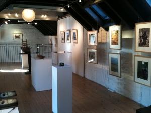Photo of Woodlanders exhibition at Aberfeldy