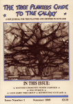 Cover of the first issue of the Tree Planter's Guide to the Galaxy