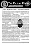 Cover of Radical Rowan newsletter no.35