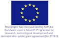 European Flag acknowledging Seventh Programme funding
